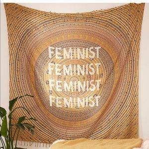 Feminist tapestry NWT retail $79 gorgeous